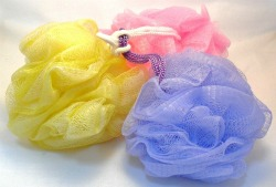 Exfoliating Skin With A Shower Scrunchie Is A More Mild Form Of Exfoliating.
