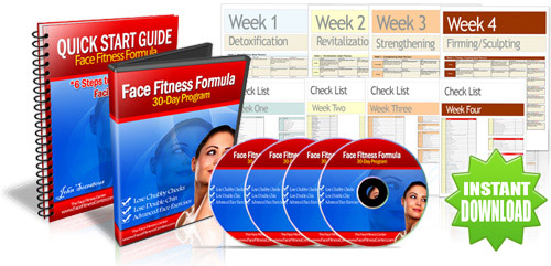 Face Fitness Program to Firm, Tighten and Smooth Your Face.