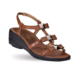 Example of a best shock absorbing and arch supporting sandal.