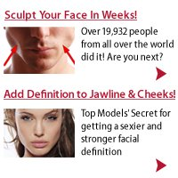 Face Sculpting Exercises For Men and Women.
